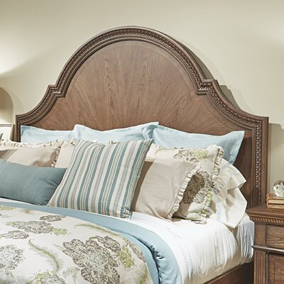Pollak Arched Panel Headboard Size: Queen