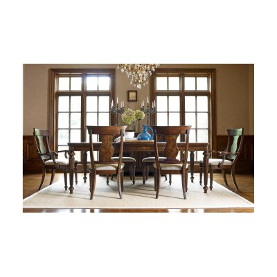 Finnegan Traditional 7 Piece Dining Set