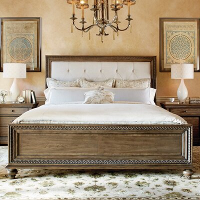 Deverel Upholstered Panel Bed Size: King
