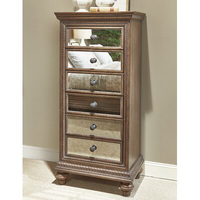 Pollak 6 Drawer Lingerie Chest