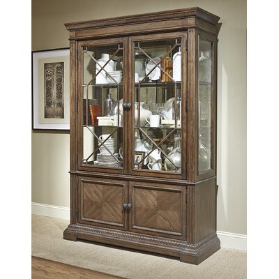 Deverel Traditional China Cabinet