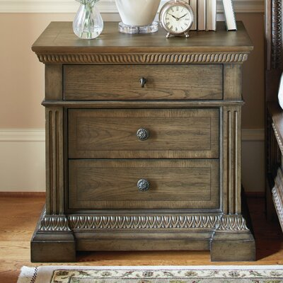 Deverel 3 Drawer Nightstand