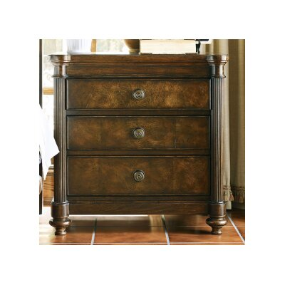 Saville 3 Drawer Nightstand