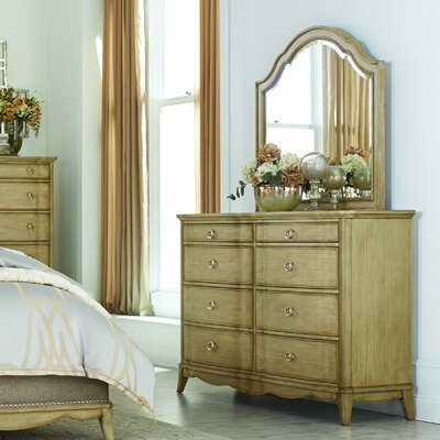 Hetherton 8 Drawer Dresser with Mirror