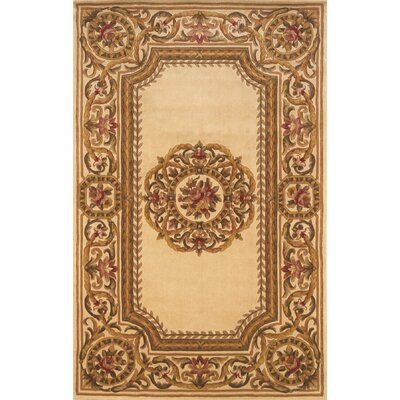 Laurel Hand-Tufted Ivory Area Rug Rug Size: Rectangle 36 x 56