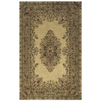 Hesperia Hand-Tufted Beige Area Rug Rug Size: Rectangle 8 x 10