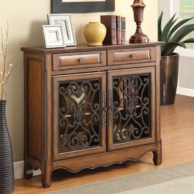 Chatfield 2 Drawer 2 Door Accent Cabinet