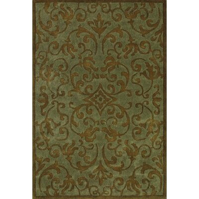 Astoria Blue/Brown Area Rug Rug Size: Rectangle 5 x 8