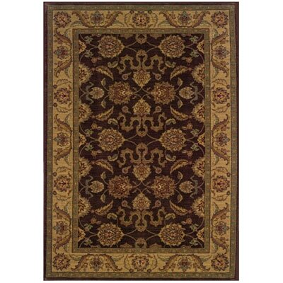 Barrows Brown/Beige Area Rug Rug Size: Rectangle 53 x 76