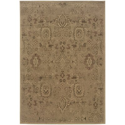 Pollark Oriental Brown Area Rug Rug Size: Rectangle 710 x 1010
