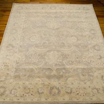 Fullmer Taupe Area Rug Rug Size: Rectangle 39 x 59