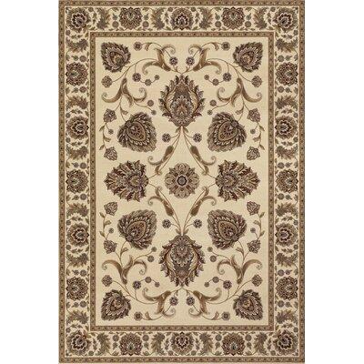 Cavas Ivory/Brown Area Rug
