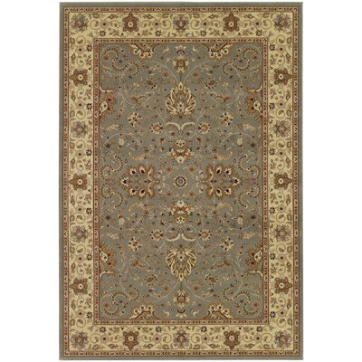 Blundell Floral Gray Area Rug Rug Size: 2' x 3'11