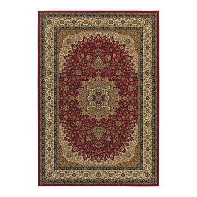 Blundell Royal Kashan Red/Brown Area Rug
