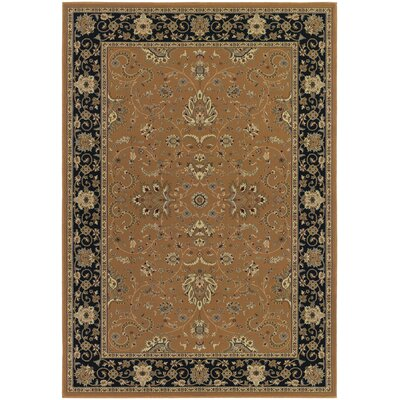 Blundell Floral Brown Area Rug