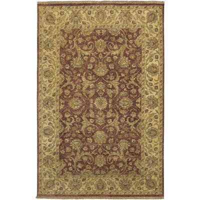 Harrell Brown Rug Rug Size: Rectangle 56 x 86