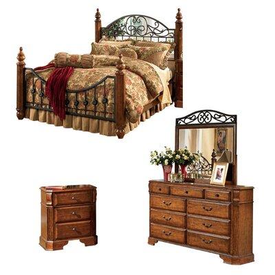 Garrett Panel 3-Piece Bedroom Set