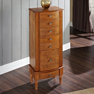 Turin Free Standing Jewelry Armoire