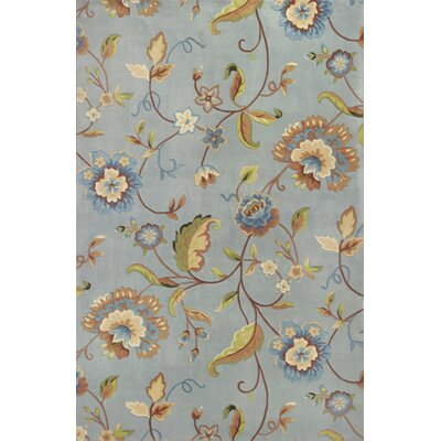 Abbington Floral Wool Hand-Tufted Area Rug