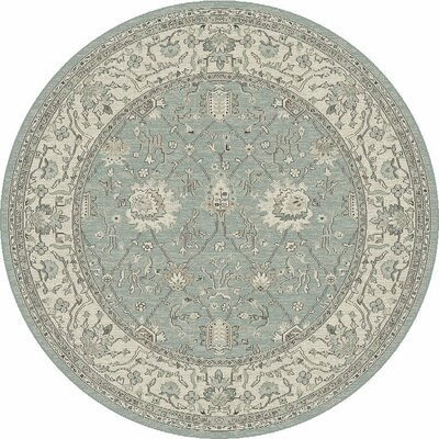 Appleridge Frost/Oatmeal Tabriz Area Rug Rug Size: 53 x 77
