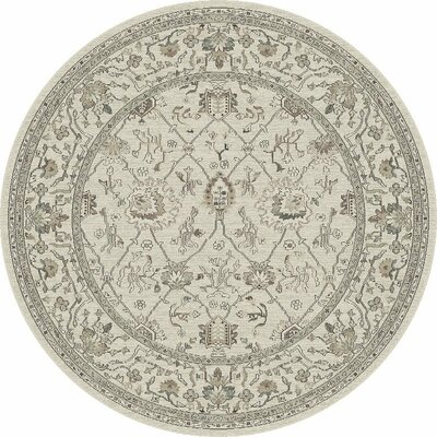 Appleridge Oatmeal Tabriz Area Rug Rug Size: 53 x 77