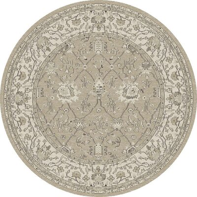 Appleridge Sand/Oatmeal Tabriz Area Rug Rug Size: 53 x 77