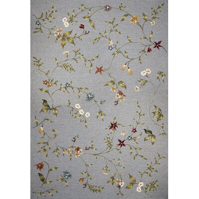 Ulysse Floral Indoor/Outdoor Area Rug Rug Size: 53 x 77