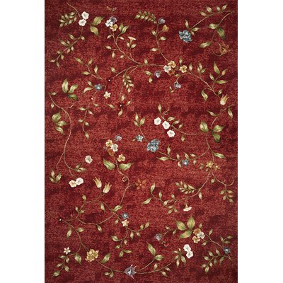Ulysse Red Indoor/Outdoor Area Rug Rug Size: 53 x 77
