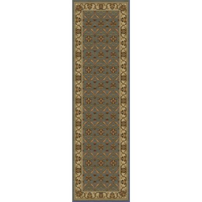 Antwerp Slate/Ivory Agra Rug Rug Size: Runner 23 x 77