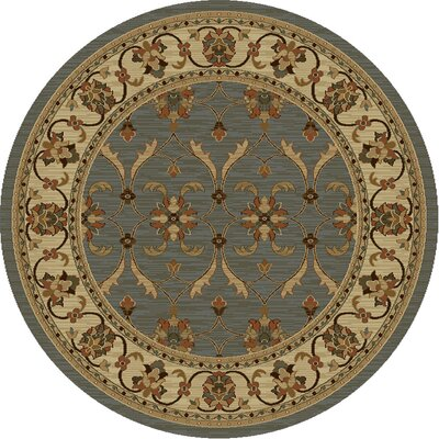 Antwerp Slate/Ivory Agra Rug Rug Size: Rectangle 710 x 910