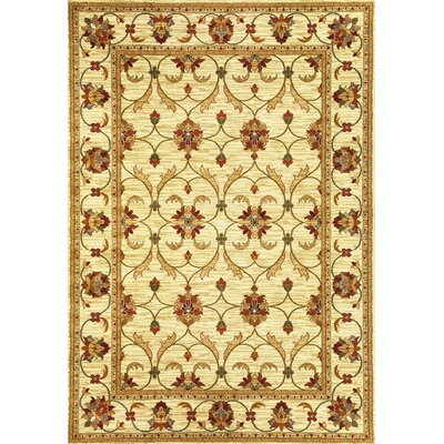 Antwerp Ivory Agra Area Rug Rug Size: Rectangle 27 x 41
