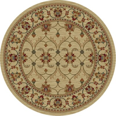 Antwerp Ivory Agra Area Rug Rug Size: 19 x 211