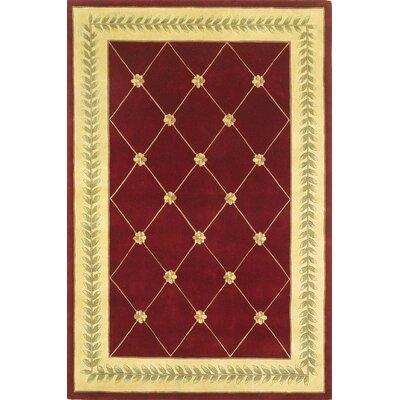 Valeriane Gold Trellis Area Rug Rug Size: 8 x 106