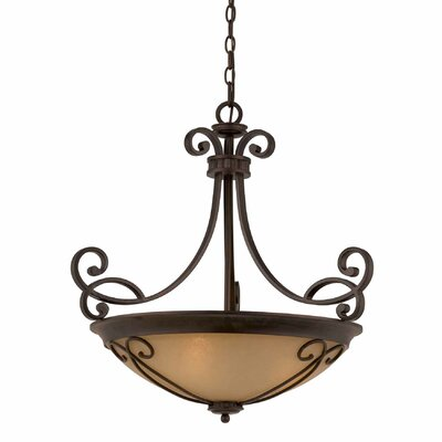 Albin 4-Light Bowl Pendant