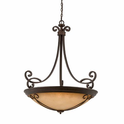 Albin 10-Light Bowl Pendant
