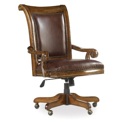 Alexis Leather Bankers Chair