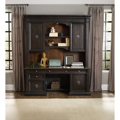 Johnathan Executive Desk with Hutch