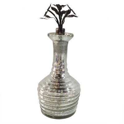 Glass and Iron Perfume Bottle