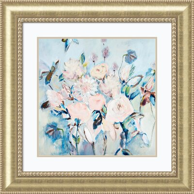 'Sweetness and Light II v2 (Floral)' Framed Painting Print