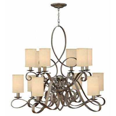Algonquin 12-Light Shaded Chandelier