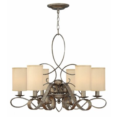 Algonquin 6-Light Shaded Chandelier