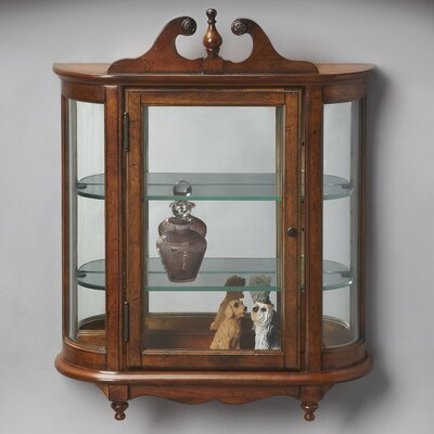 Beadling Wall-Mounted Curio Cabinet