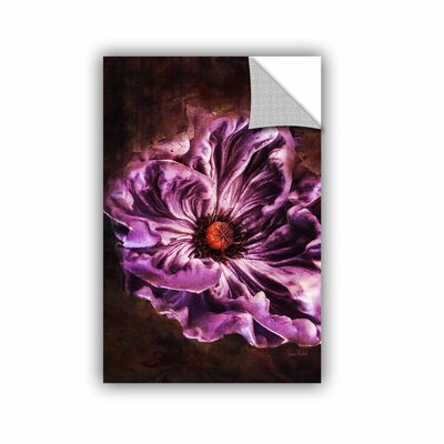 Fitzgerald Purple Wall Mural Size: 12