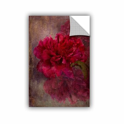 Tapestry Rose Wall Mural Size: 12