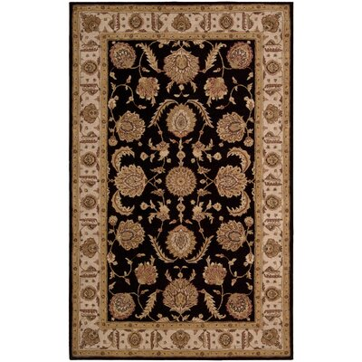 Lundeen Black Area Rug Rug Size: Novelty 8