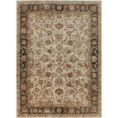 Garrison Beige Area Rug Rug Size: Rectangle 9 x 13