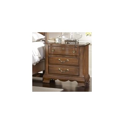 Diamondback 3 Drawer Nightstand Finish: Antique Cherry