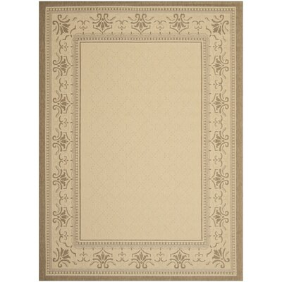 Beasley Vine Border Outdoor Rug Rug Size: Rectangle 710 x 11