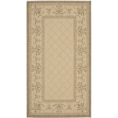 Beasley Vine Border Outdoor Rug Rug Size: Rectangle 2 x 37