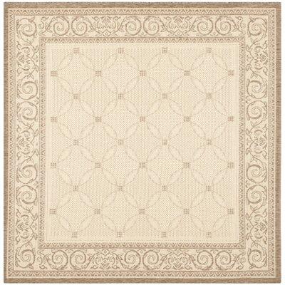 Beasley Garden Gate Outdoor Rug Rug Size: Square 67